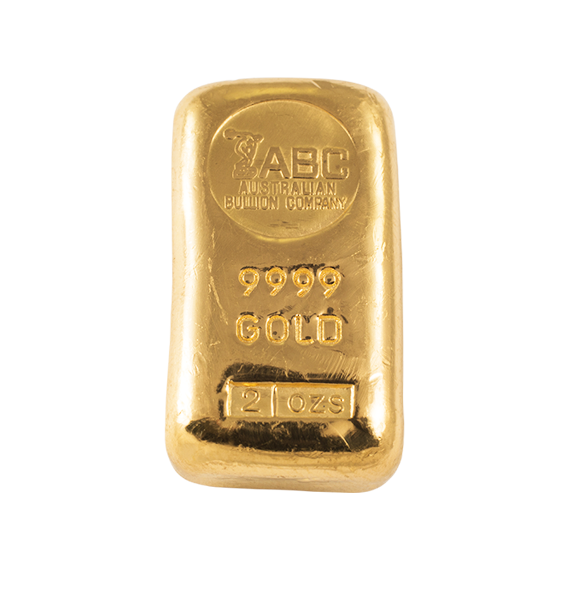 Buy 2oz Abc Gold Cast Bar Online