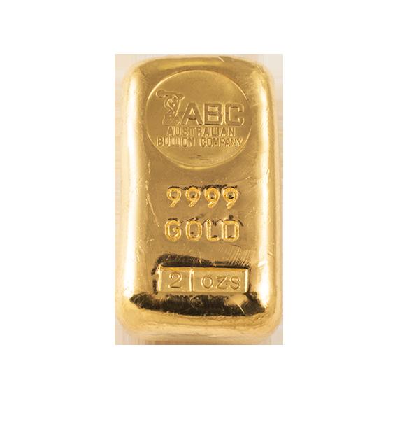 Buy 2oz Abc Gold Cast Bar Online